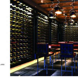 伟德国际官方网站酒吧餐厅会所专用不锈钢酒柜定制